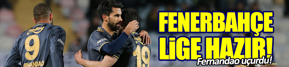 Fenerbahçe 5-1 Denizlispor / Maç Özeti
