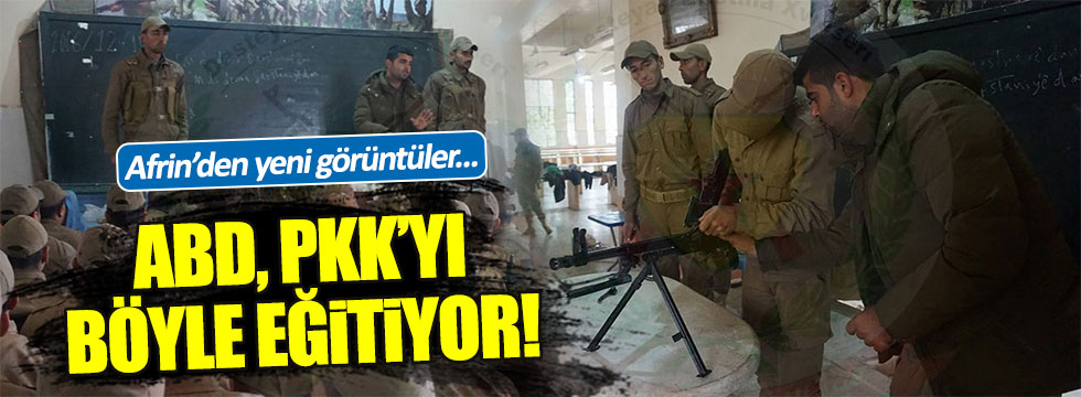 ABD, PKK'yı böyle eğitiyor!