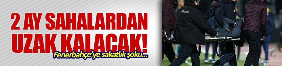 Fenerbahçe'ye sakatlık şoku...