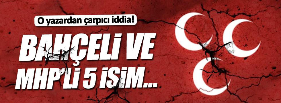 """Can Ataklı'dan çarpıcı iddia: """"Bahçeli ve MHP'li 5 isim..."""""""