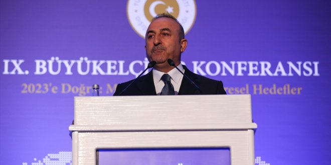 """Çavuşoğlu: """"ABD'den iki öncelikli beklentimiz var"""""""
