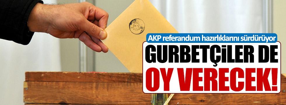 AKP referandum için harekete geçti