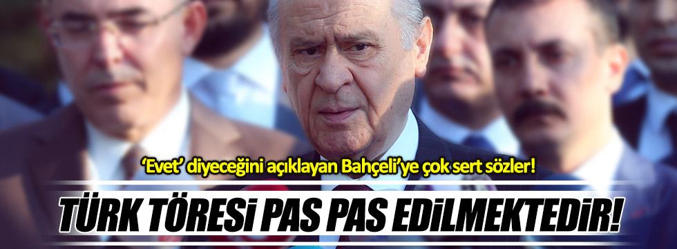 CHP'li Oran'dan MHP'ye: Başkanlık, Türk töresini pas pas etmektir