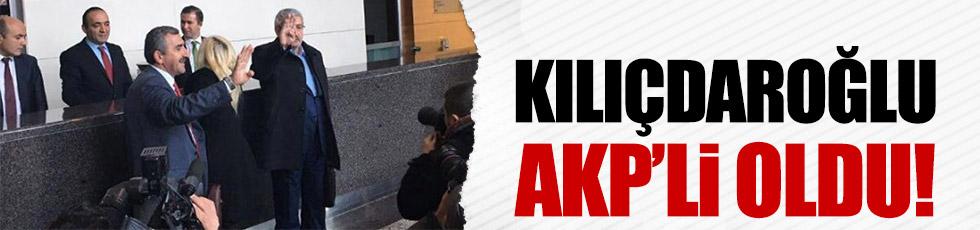 Celal Kılıçdaroğlu resmen AKP'li oldu