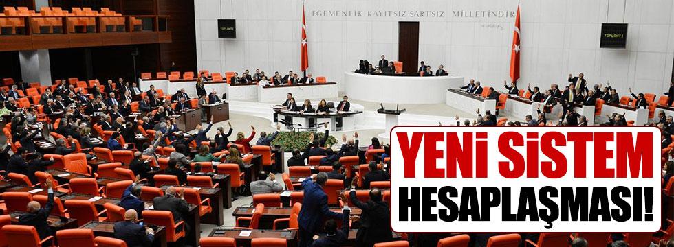 Meclis'te başkanlık sistemi kapışması!