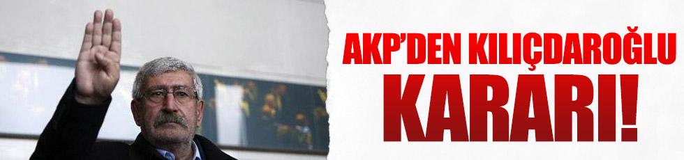 AKP'den Kılıçdaroğlu açıklaması