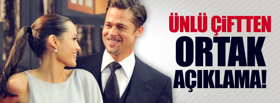 Angelina Jolie ve Brad Pitt'ten gizlilik anlaşması