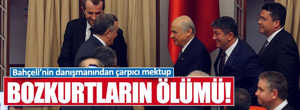 Bahçeli'nin eski danışmanı Dağdaş'tan MHP'li vekillere mektup