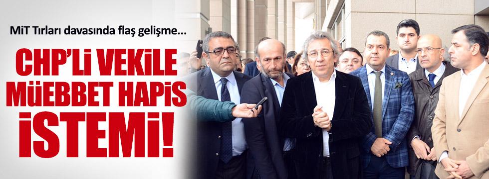 Enis Berberoğlu'na müebbet hapis istemi