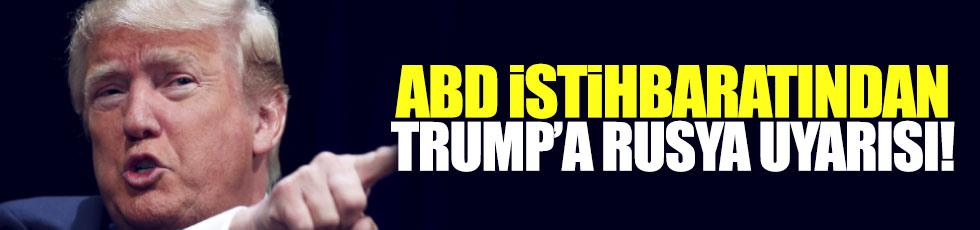 ABD istihbaratından Trump'a uyarı