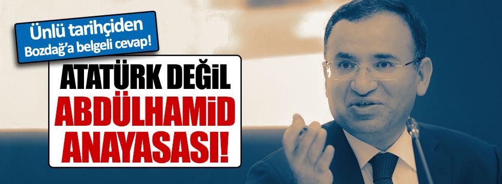 Sinan Meydan: Atatürk Anayasası'na değil, Abdülhamid Anayasası'na dönülüyor
