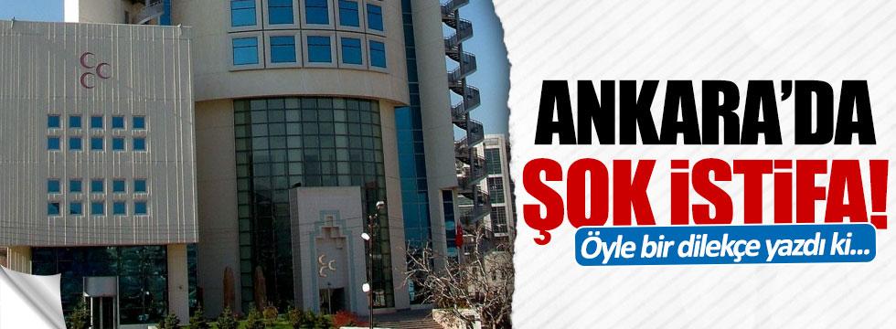 MHP Ankara İl Başkan Yardımcısı Özgür Işık istifa etti