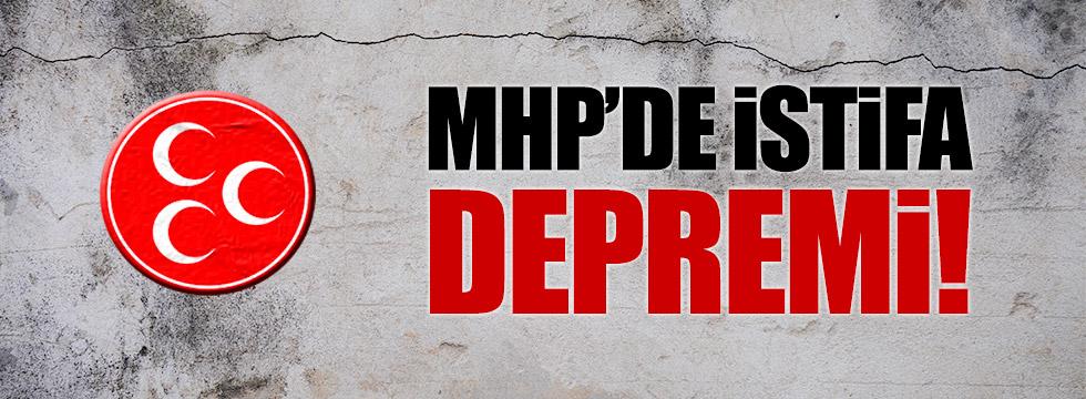 MHP Akçakoca yönetim kurulu üyeleri istifa etti