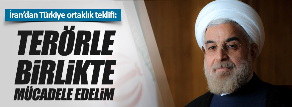 İran'dan 'terörle mücadele' için ortaklık teklifi
