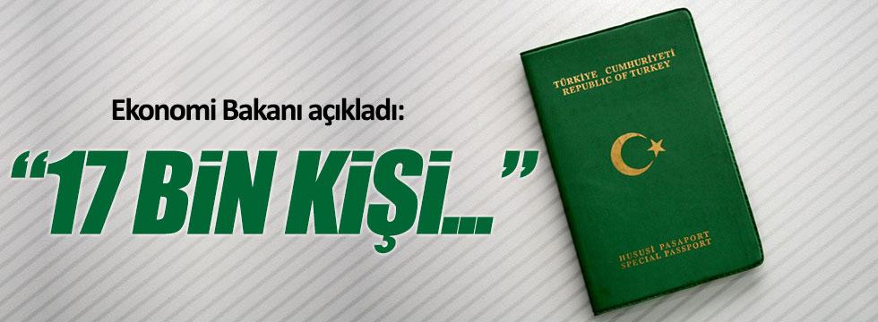 Bakan Zeybekçi: 17 bin ihracatçıya yeşil pasaport verilecek