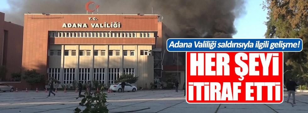 Adana Valiliği saldırısıyla ilgili flaş gelişme!