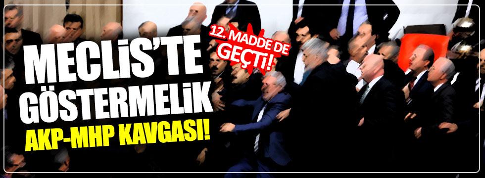 12. madde, AKP-MHP arasındaki göstermelik kavgayla geçti