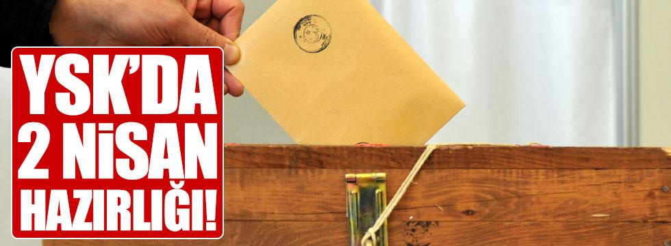 YSK'da, referandum hazırlığı