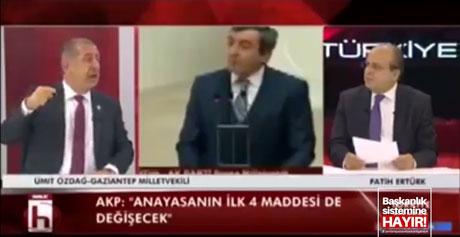 """Özdağ'dan """"ilk 4 madde değişebilir"""" diyen AKP'liye çok sert cevap"""