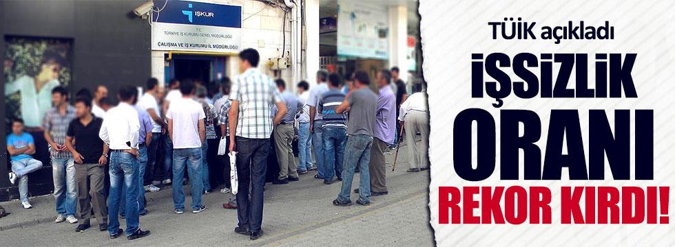İşsizlik 4 milyon kişiye dayandı!