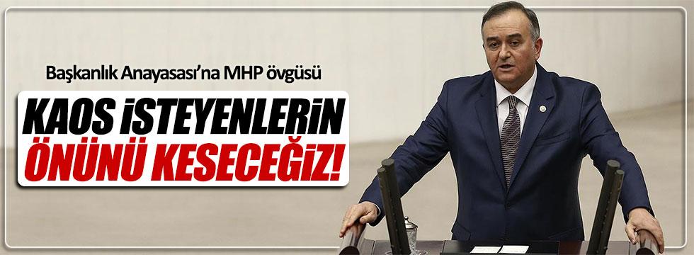 MHP'den Başkanlık Anayasası'na övgü