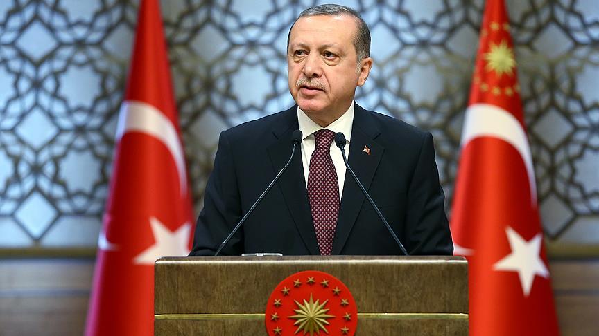 Erdoğan'dan, Atambayev'e taziye