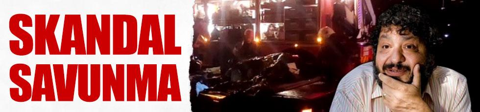 Erdal Tosun'u öldüren kazaya skandal savunma