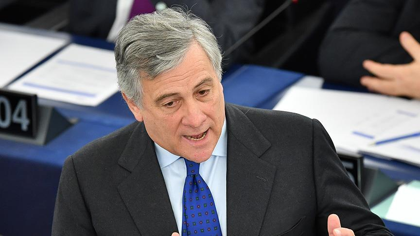 AP'nin yeni başkanı Tajani oldu
