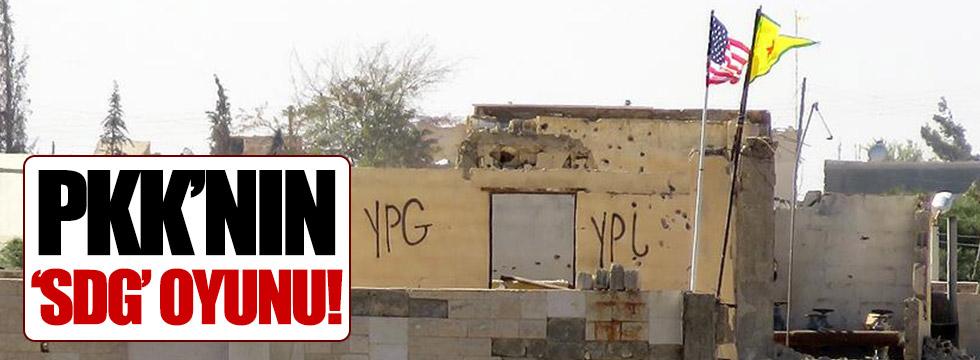 PKK'nın 'SDG' oyunu!