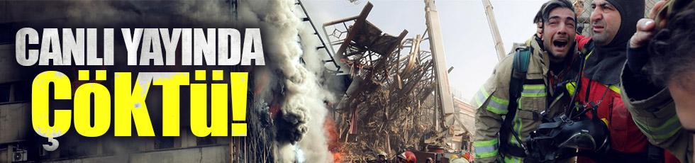İran'da yangın faciası