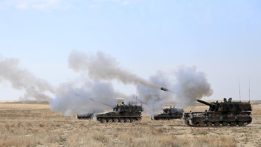 Fırat Kalkanı'nda IŞİD'e darbe!