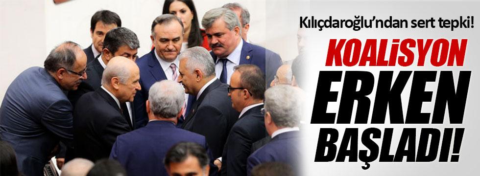Kılıçdaroğlu: Koalisyon dönemi erken başladı