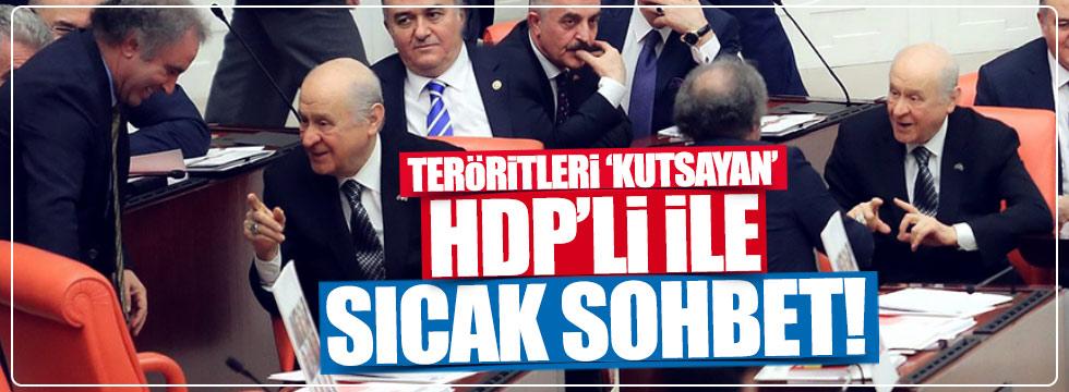 Teröristleri kutsayan PKK'lıya, Bahçeli ilgisi!