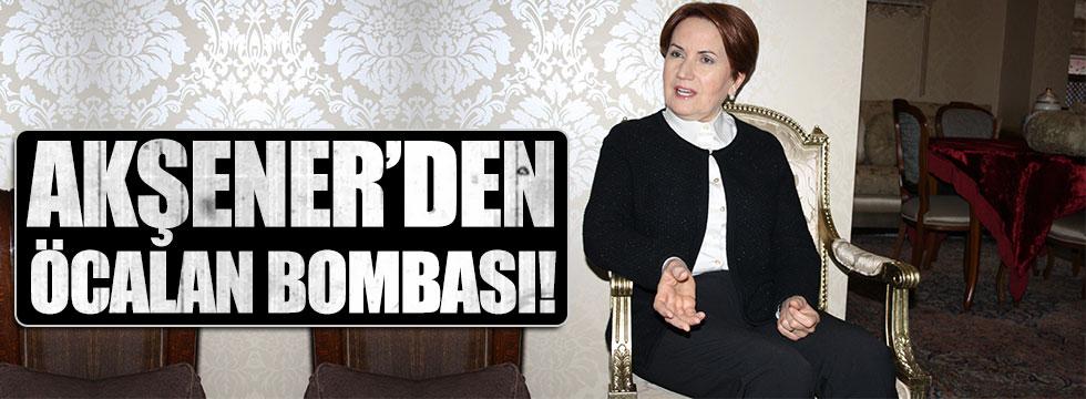 Akşener: Devlet Bahçeli başkanlık desteğini çeksin aday olmayacağım!
