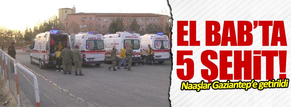 El Bab'da hain saldırı: 5 şehit