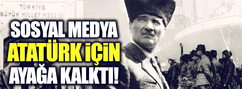 Türkiye, Atatürk için ayağa kalktı!