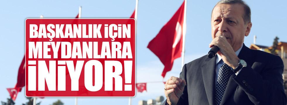 """""""Erdoğan referandum için sahada olacak"""""""