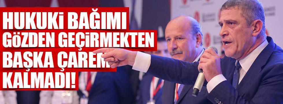 Dervişoğlu'ndan istifa sinyali