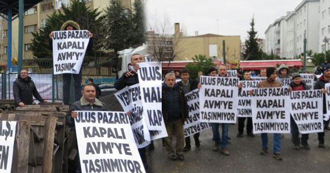 'Sosyete pazarı'nda protesto