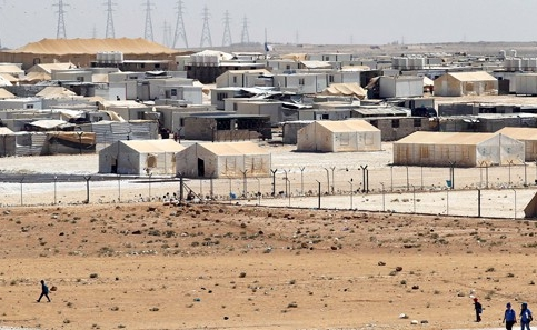 Mülteci kampında patlama