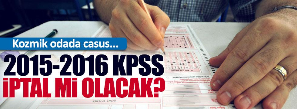 KPSS 2015-2016 sınavları da mercek altında