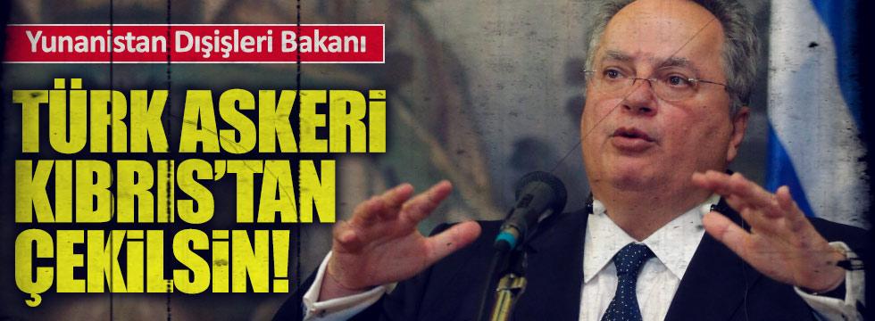 """""""Türk askeri Kıbrıstan çekilsin"""""""