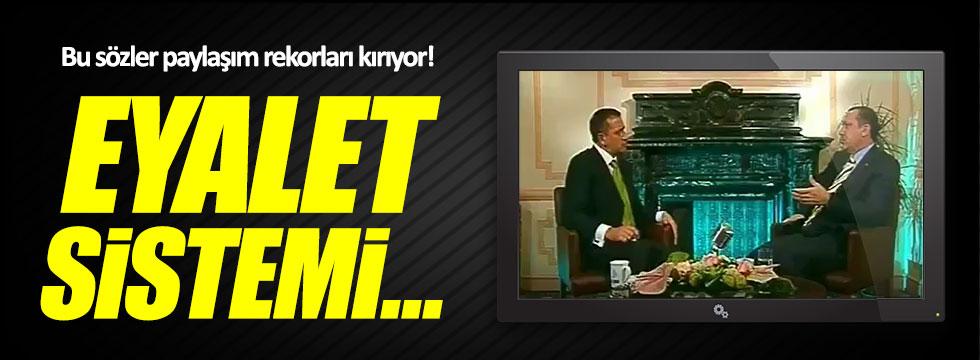 Erdoğan'ın 'eyalet sistemi' ile ilgili sözleri paylaşım rekorları kırıyor