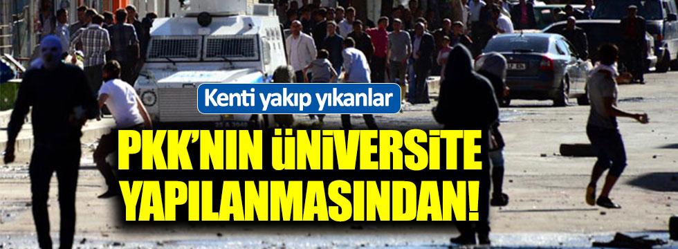 Erzurum'u yangın yerine çevirenler PKK'lı çıktı