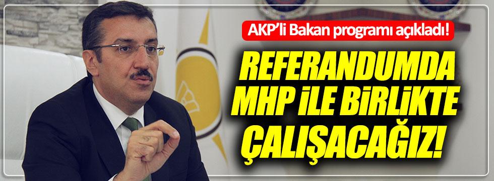 AKP'li Tüfenkçi: Çalışmalarımızı MHP ile yürüteceğiz