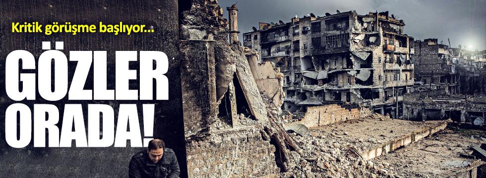 Suriye'de çözüm toplantısı