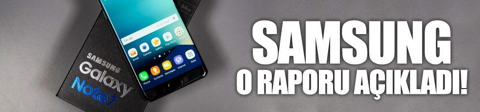 Samsung'dan Note 7 açıklaması