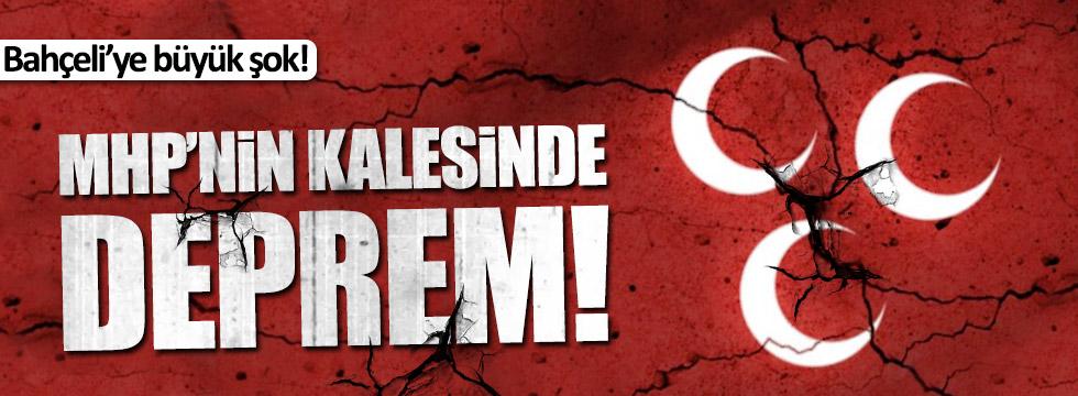 MHP'nin kalesinde istifa depremi