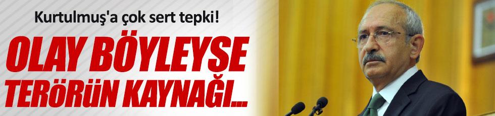Kılıçdaroğlu'dan Kurtulmuş'a sert tepki tepki