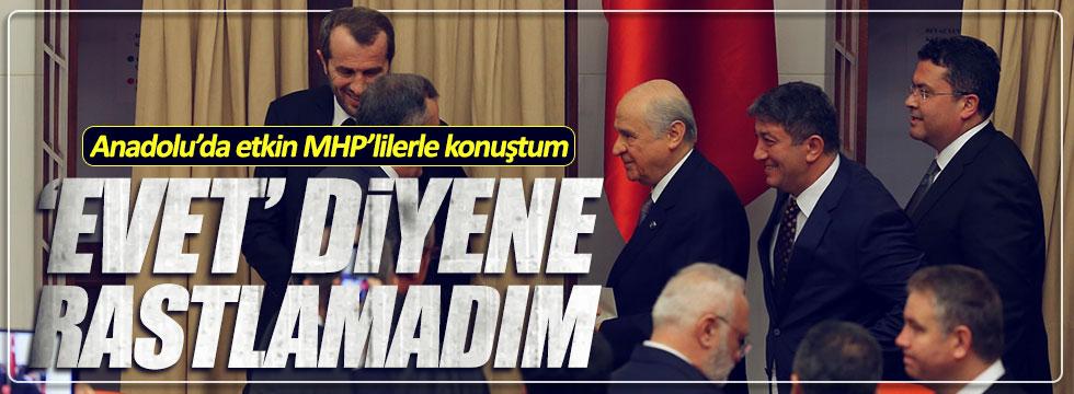 Sarıkaya: Anadolu'yu gezdim, 'evet' diyecek MHP'li yok